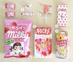 yumicha: i ♥ japan + petite surprise Japanese Treats, Japanese Candy, Japanese Food, Kawaii, Best Friend Drawings, Pink Foods, Cute Candy, Cute Packaging, Cute Food