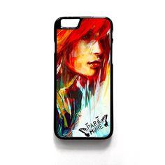 Paramore Art Painting For Iphone 4/4S Iphone 5/5S/5C Iphone 6/6S/6S Plus/6 Plus Phone case ZG