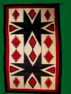 Navajo Rug History. Navajo rugs.