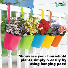 Buy garden pots online in india from theorganicfe a leading make your garden beautiful by choosing hanging pots buy hanging pots online in india workwithnaturefo