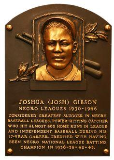 Gibson, Josh | Baseball Hall of Fame
