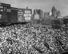 Tiger Stadium, Detroit, MI, Game 5 of the 1940 World Series, Oct. 6, 1940