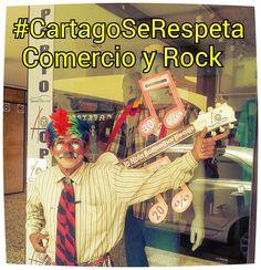 #Cartagoserespeta y No se estigmatiza, Festival del Rock @almacenoporto