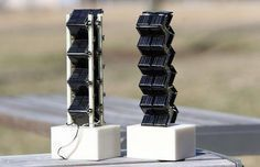 3D Solar Towers Could Generate 20x More Energy Than Flat Panels : TreeHugger #HomeEnergyImprovements