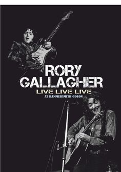 Rory Gallagher - Live Live Live At Hammersmith Odeon DVD