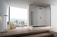 Unico-Badezimmer Kollektion mit kombinierten Badewanne und Dusche