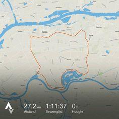Heerlijke rit in het Land van Maas en Waal! Appeltern - Alphen - Beneden Leeuwen - Druten - Appeltern. Ik stond er van te kijken hoe lekker en makkelijk het ging.