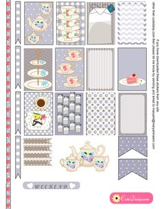 I have made English Tea themed Stickers for Happy Planner and ECLP {Free Printable} today. I was really confused that should I make some cute honey bee and bee girl themed stickers today or English Tea themed stickers, my husband and daughter, both were in the favor of the other set that I would make pretty …