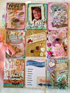 Friendship Pocket Letter: I think I enjoy open themed pocket letters the best... anything goes! I made this pocket letter for a friend across the globe! We couldn't pick a theme but decided on pink, cats, vintage, and cutsie!