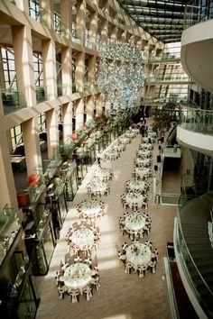 How pretty! - Salt Lake City Public Library - Wedding Reception (Blog - Culinary Crafts)