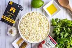 This Spanish Cauliflower Rice is a delicious low-carb side dish that you can enjoy without guilt! Naturally Gluten Free and Keto Friendly. Spanish Cauliflower Rice, Cauliflower Recipes, Enchiladas, A Food, Food And Drink, Spanish Rice Recipe, Rice Ingredients, Low Carb Side Dishes, Low Carb Keto
