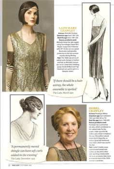 "Downton Obsession .. ""Beauty Secrets Of Downton"" The Lady, 2 October 2015.."