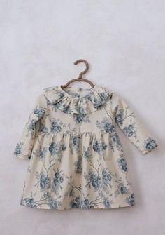 Handmade Blue Floral Dress   SweetHannahBDesigns on Etsy