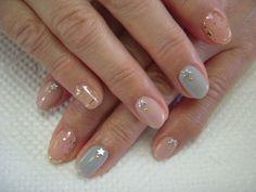 ☆ niche niche nail salon Nakano ☆ | Simple & elegant image of nail & Weddings