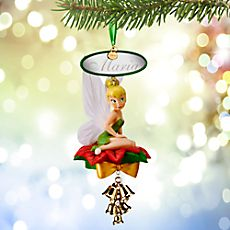 Tinker Bell Light-Up Sketchbook Ornament - Personalizable