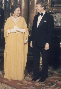 Die Queen trifft... US-Präsident Jimmy Carter (1977)