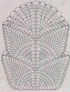 Crochet Table Runner Pattern, Crochet Doily Diagram, Crochet Lace Edging, Crochet Tablecloth, Crochet Chart, Filet Crochet, Irish Crochet, Crochet Doilies, Crochet Collar Pattern