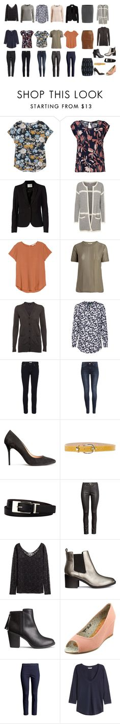 """Casual Work capsuel - spring 2016 40+"" by lone-haure-norrevang on Polyvore featuring H&M, VILA, FiveUnits, Paolo Vitale, Liz Claiborne and The People's Movement MOVMT"