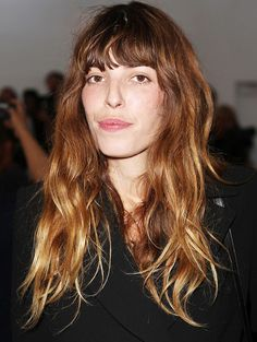 Lou Doillon, former model #hairstyle