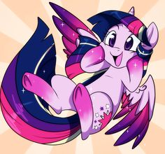 Rainbow Power Filly Twi by Lustrous-Dreams