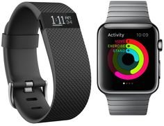 Fitbit Charge HR vs Apple Watch  http://getintocpu.blogspot.com/2016/01/apple-watch-vs-fitbit-trackers.html