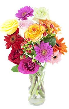 Blooming Hope Bouquet - With Vase $31.37