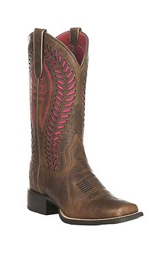 We're loving Ariat VentTEK boots! They have mesh inlay that allows your boots to breathe, and keeps your feet dry and cool.
