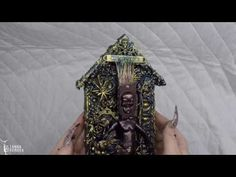 Mixed Media Skeleton house with Yulianna Efremova – Lindy's Stamp Gang