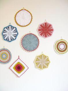 pega panelas de crochê inspiração