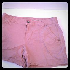 DKNY dusty pink size 14 shorts Dusty Rose cotton shirts. Light and breathy! DKNY Shorts