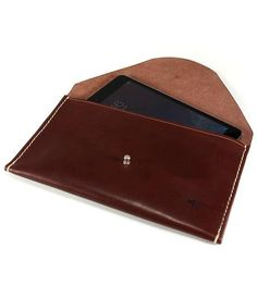 Leather iPad Mini Envelope Case | Features iPhone and iPad | Slightly Alabama | Scoutmob | Product Detail