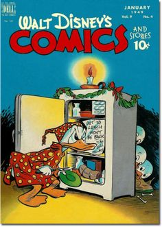 As a cover enhancement for the 100th issue, Disney printed this comic on slices of actual Christmas turkey.