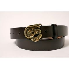 Abstract Belt Buckle from Cellar Leather