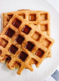 Easy Gluten-free Oat Waffles   Cookie + Kate