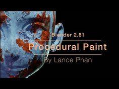 Procedural paint in Blender – Famous Last Words Blender 3d, Game Art, Blender Tutorial, Video Game Development, 3d Tutorial, Game Engine, Graphic Design Tips, Travel Humor, Environment Concept