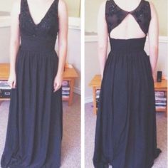 Black Prom/Banquet Dress