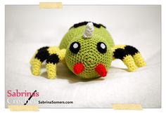 Spinarak Pokemon Gratis Amigurumi Haakpatroon