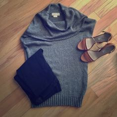 {michael kors} sweater Short dolman style sleeve. Fabric has a slight sheen Michael Kors Sweaters