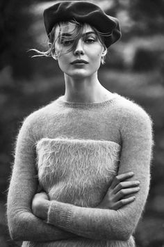 """amy-ambrosio: """" Frida Gustavsson by Andreas Sjödin for Elle Sweden, August 2015. """""""