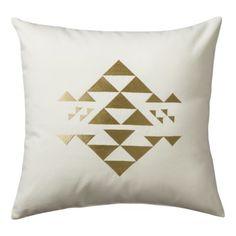 Nate Berkus™ Pyramid Decorative Pillow - White