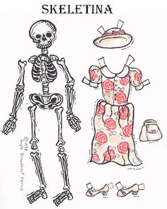 Paperdolls for every taste! (Wouldn't an NCIS Abby paperdoll, along with her wardrobe be awesome?)