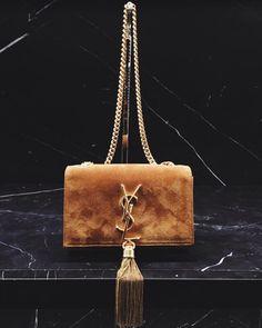 Yves Saint Laurent // Fringe bag // All black everything | Threads ...