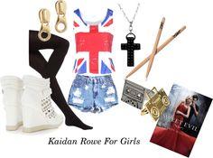 """Kaidan Rowe for Girls"" by buknerd on Polyvore"