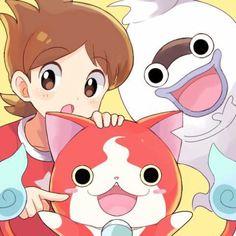 Yo-Kai Watch | Nate (Keita), Whisper, and Jibanyan
