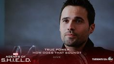 """S3 Ep15 """"Spacetime"""" - Sounds like Hive can read Malick like a book. #AgentsofSHIELD"""