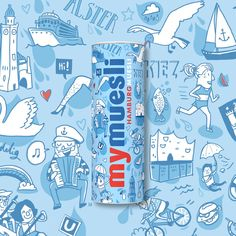 Berlin Design, Der Computer, Water Bottle, Drinks, Colouring Pencils, Workplace, Creative Ideas, Hamburg, Drinking