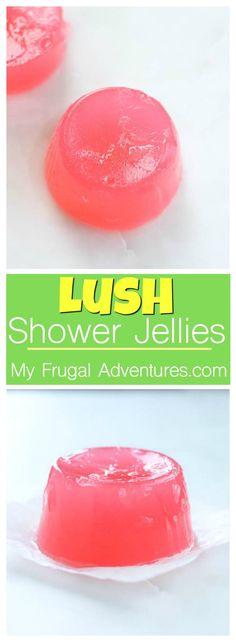 Homemade Bath jellies- just like Lush!  Such a fun homemade gift idea.