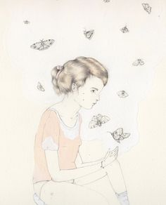 A piece of another drawing by Sarah McNeil, via Flickr