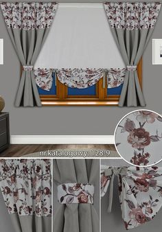 Rideaux Design, Window Coverings, Regional, Diy And Crafts, Sweet Home, Cushions, Curtains, Handmade, Craft