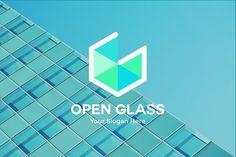 Letter G Logo - Open Glass Tecnology by Kurt_Harahap on @creativemarket